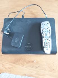 SKY +HD Box with remote control