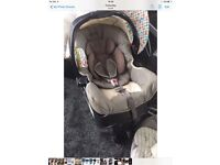 GRACO JUNIOR SPORT LUXE BABY CAR SEAT & BASE