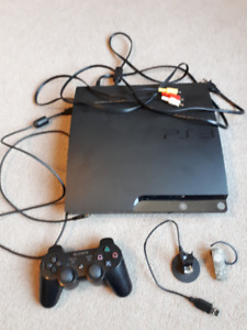 ps3 ~ 1 controller , 14 games, wireless headset