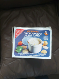 Micro wise microwave steamer