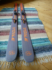 Voile V8 with G3 Ion tech bindings and G3 Alpinist skins