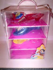 Disney Princess Dress Up 4 Pack Shoes MINT CONDITION!!!