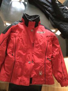 Ladies Spyder Downhill Ski Jacket and Pants