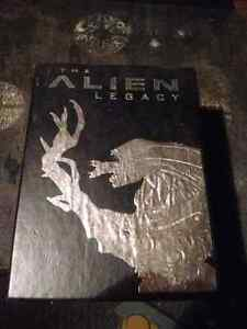 Alien Legacy 5vhs box set