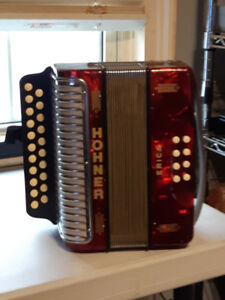 HOHNER ACCORDION 4 SALE