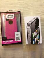 iPhone 4S 8GB with Otter Box Commuter