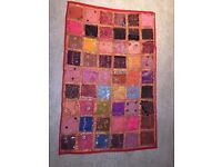Ethnic Indian wall hanging throw brand new