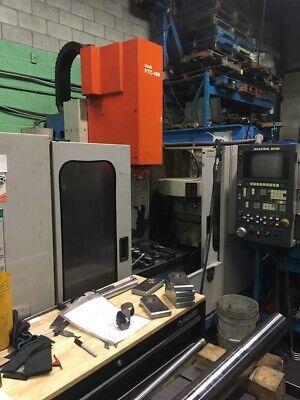 Used Mazak Vtc-16b Cnc Vertical Mill 1994 M-32b 44.16.20 8000 Rpm 24 Tools