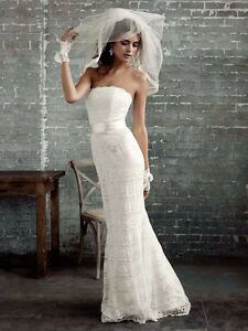 Ivory Satin and Lace Wedding Dress & Bolero Kitchener / Waterloo Kitchener Area image 10