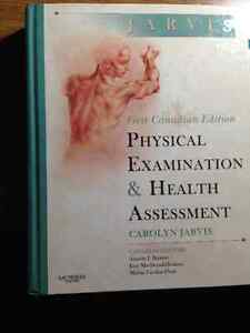 Jarvis Physical examination & health assessment-1st Canadian ed