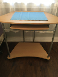 small computer table