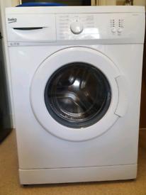 Beko 6kg washing machine with manual