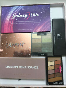 Barely Used 100% Authentic Eyeshadow Palettes