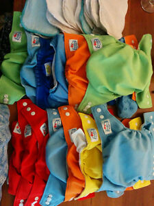 One-size pocket diapers