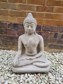 Tall stone Buddha statue