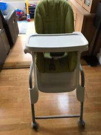 Oxo Tot Seedling High Chair Green