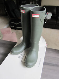 Hunter Boots, size 9, Original Tall, Brand New in Box