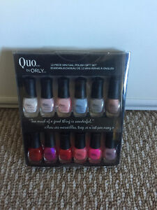 Quo by ORLY Collection of 12 nail polish colour BNIB NEW