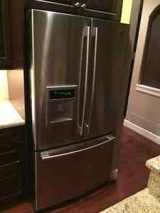 "LG Stainless Steel Fridge with water and ice dispenser. 36"" Wide"
