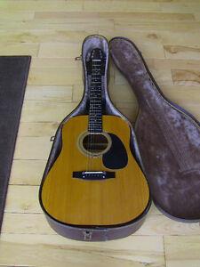 Vintage Citation Acoustic Guitar and Case
