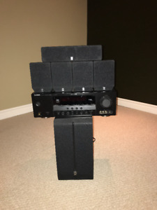 Yamaha Receiver and 5.1 Speakers