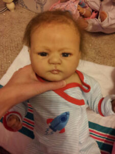 Reborn doll by Reva Sheick! WILL SHIP! Only serious buyers!!!!
