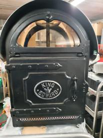 King Edward Potato Oven with Lit Top Glass Display MODEL PB2(F)V