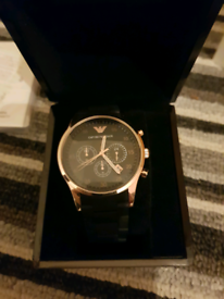 Genuine Armani watch brand new with auth certificate and original box