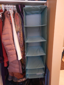 Hanging closet organizer from Ikea - NEW, never used
