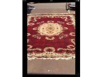 Afghan rugs x 2