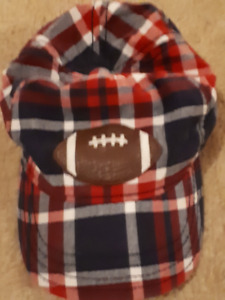 Football Hat 12-18 Months (Ball Cap Hat)