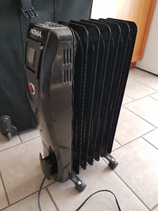 Noma 1500w oil-filled heater