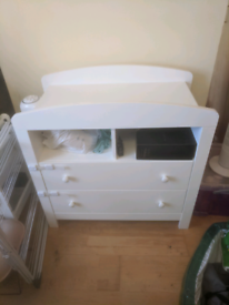 Baby changing table / cabinet with drawers