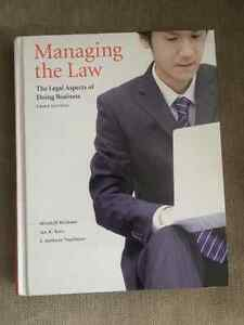 Managing the Law : the legal aspects of doing business