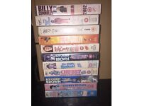 VHS comedy tapes