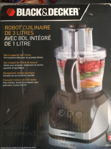 Robot culinaire et Presse-biscuits