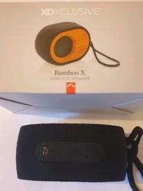 Bamboo X Bluetooth speaker