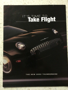 2002 and 2004 Ford Thunderbird Sales Brochure