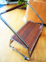 Retro Bar Cart/Media Stand