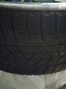"22"" Pirelli Winter Tires"