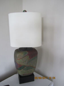 Vintage 1980's Ceramic Table Lamp