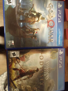 God of War Assassin's Creed Odyssey PS4