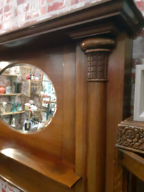 Antique outstanding fire surround