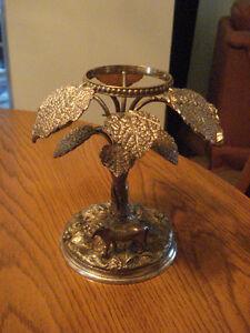 Silver Plated  Decorative  Statue