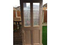 Exterior Malton unglazed door