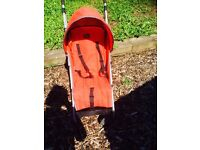 Red chicco pushchair/stroller/buggy