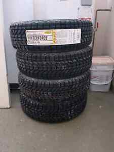 Firestone winterforce tires size 185/70r/14