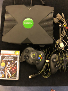 Original XBox Console As Is