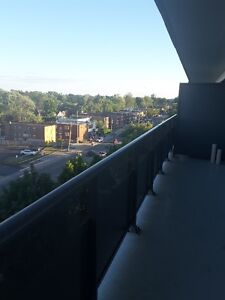 Bright spacious 1 bdrm with Extra large balcony available now