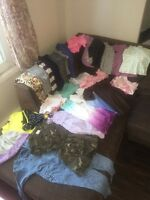 Lot of 4T girls clothing